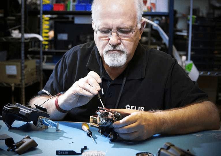 Servicio técnico FLIR, Reparación de equipos, Apliter Termografia